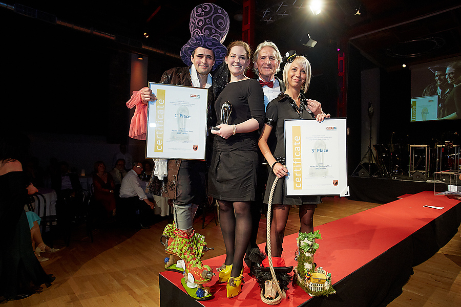 Wiener Schuhmacherball 2015 mit dem Award for the Crazy Shoe 2015